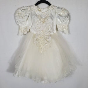 Embellished White Gown•Toddler•Size 2